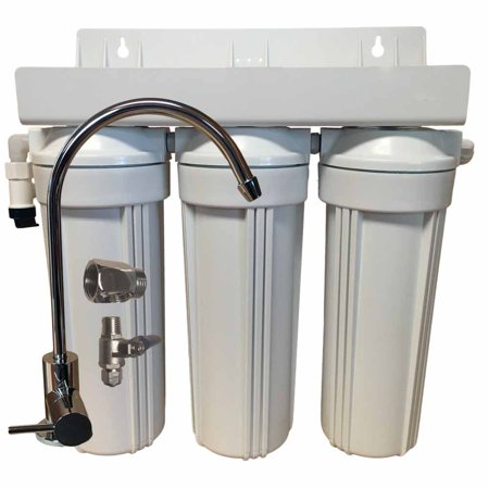 3 Stage 10-inch Drinking Water Filter for Fluoride, Arsenic, & Heavy Metal Removal (Arsenic Removal Filter)