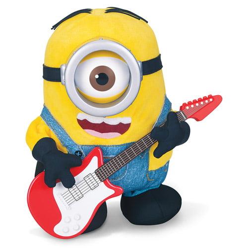 Kids Toy Minions Movie Wind Up Guitar Strumming Stuart Minion