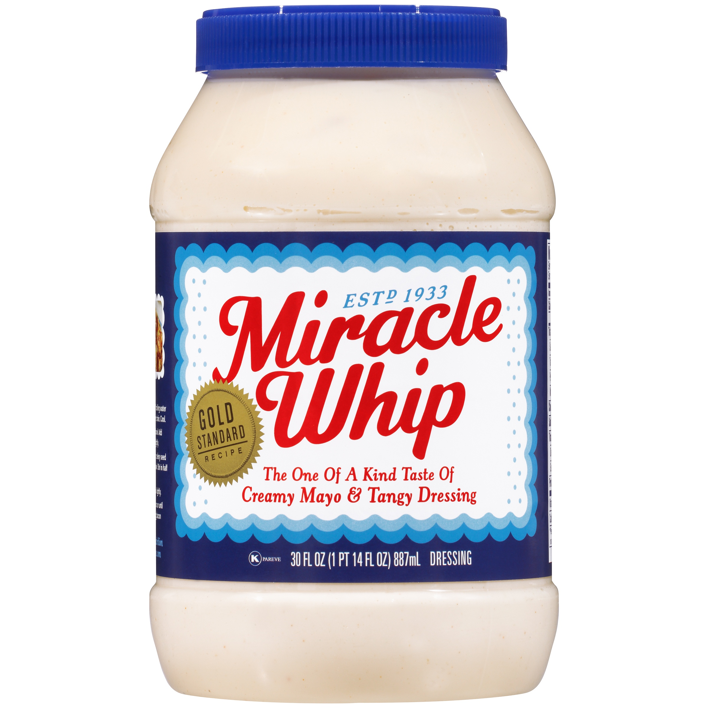 Kraft Miracle Whip Dressing 30 fl. oz. Jar