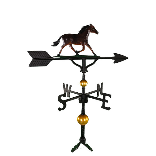Montague Metal Products Inc. Deluxe Horse Weathervane