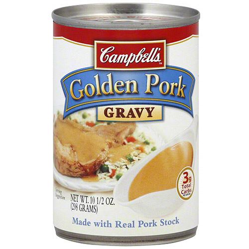 Campbell's Golden Pork Gravy, 10.5 oz (Pack of 24)