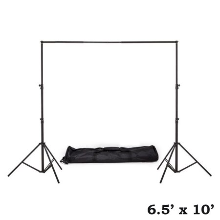 Efavormart Heavy Duty Pipe and Drape Kit Wedding Photography Backdrop Stand-6.5ft x10ft - Pvc Pipe Backdrop