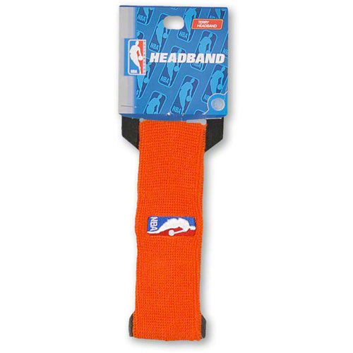 NBA - Official NBA On-Court Logoman Headband - Orange