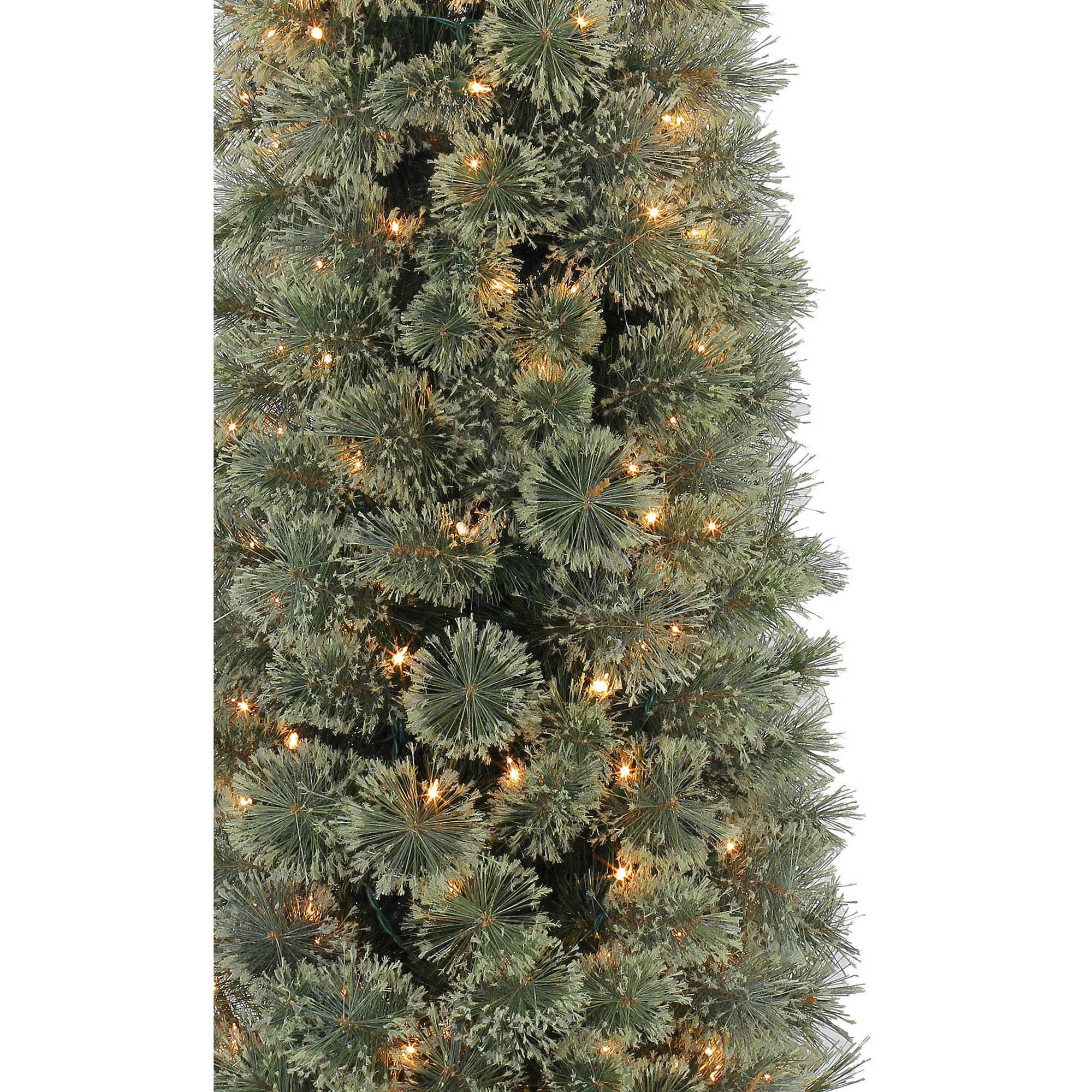 Holiday Time Pre-Lit 7' Shelton Fir Artificial Christmas Tree ...