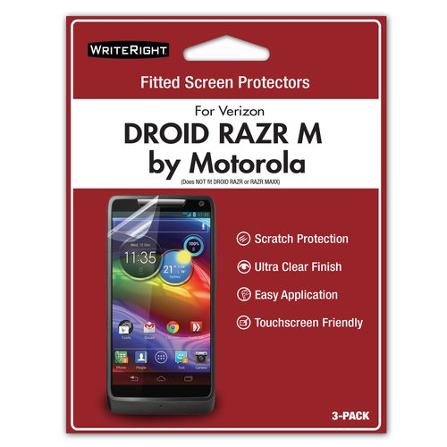 WriteRight Screen Protector for Droid Razr M