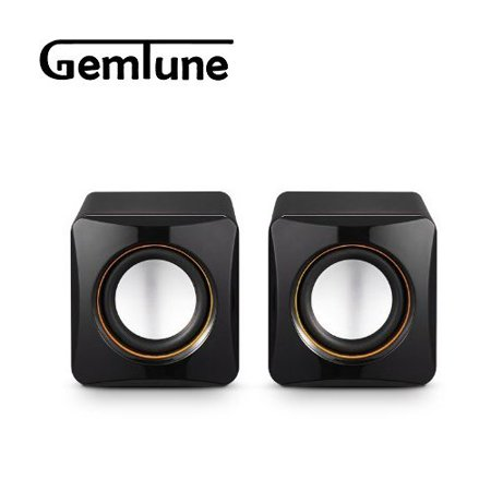 AL-202, High-fidelity USB Acoustics System, Powered by USB, for Laptops and Desktops, Cube Speakers, Gemini Doctor