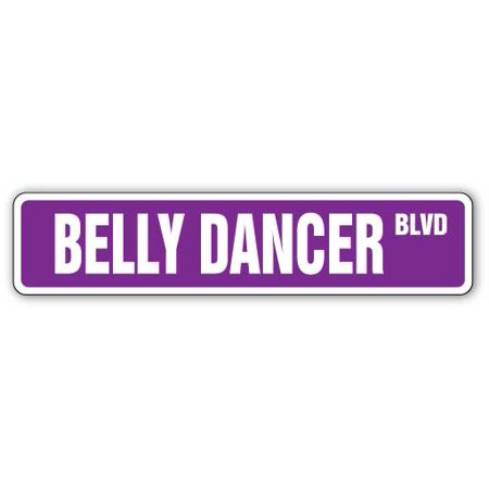 """BELLY DANCER Street Sign party dancing outfit middle eastern 