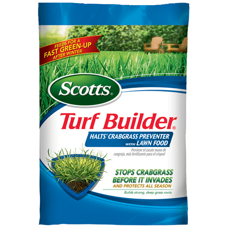 Scotts Turf Builder Halts Crabgrass Preventer with Lawn Food 15
