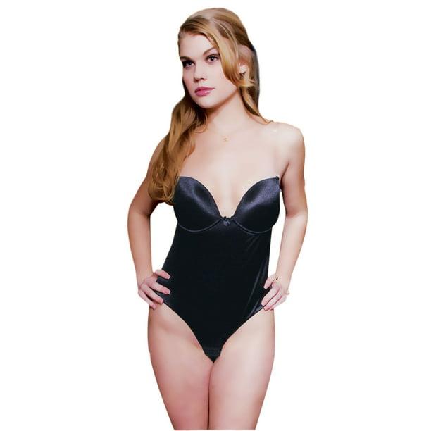 Fullness - Fullness Thong Back Backless and Strapless Body Shaper