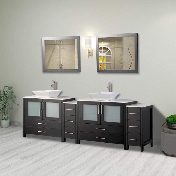 Vanity Art 96 Double Sink Bathroom Combo Set 10 Drawers 2