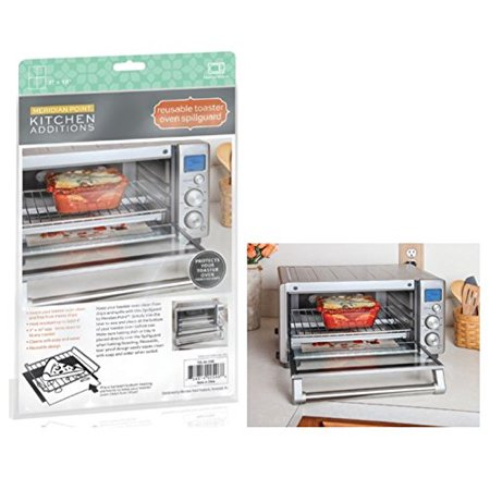 Reusable Toaster Oven Spill Guard