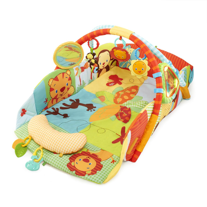 Kids II Bright Starts Swingin' Safari Baby's Play Place A...