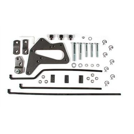 Hurst - 3670027 - Mastershift 3-Speed Install Kit, 63-87 Ford 1/2 Ton 2WD truck