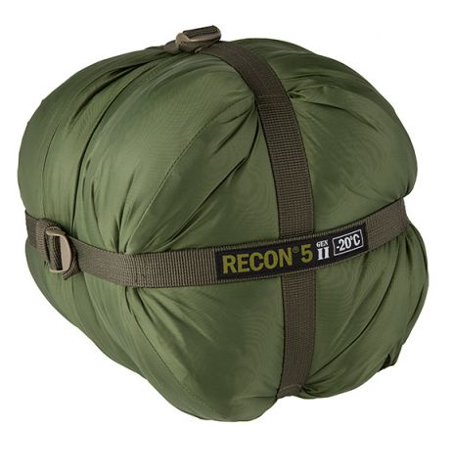 Elite Survival Systems Recon 5 Sleeping Bag, Olive Drab, Rated to -4 Degrees (Jt Usa Tac 5 Recon)