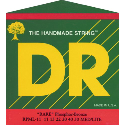 DR Strings 3RPML11 Rare Phosphor Bronze AcousticHex Core by DR Strings