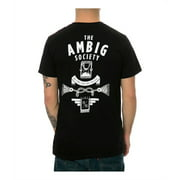 Ambig Mens The Concealed Back Hit Graphic T-Shirt