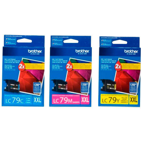 Brother LC793PKS Cyan/Yellow/Magenta Ink Cartridge