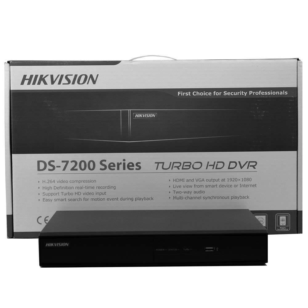 DVR Hikvision USA 4 CHANNEL 4CIF 30FPS NO HDD DS-7204HWI-SH Certified Refurbished