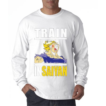 New Way 292 - Unisex Long-Sleeve T-Shirt Train Insaiyan Gym Goku Dbz Dragon Ball - Dbz Trunks