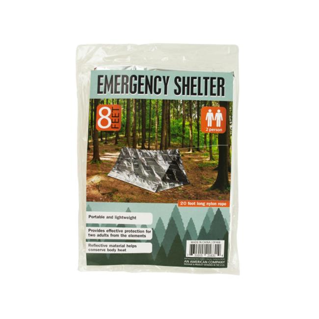 Bulk Buys OF468-16 2 Person Emergency Shelter, 16 Piece