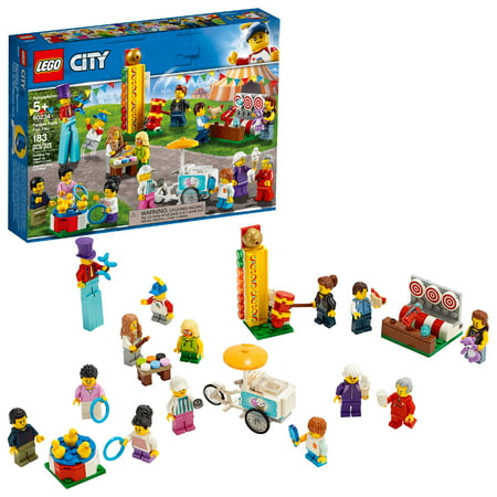 LEGO City People Pack - Fun Fair 60234 Toy Fair Building Set (183 Pieces)
