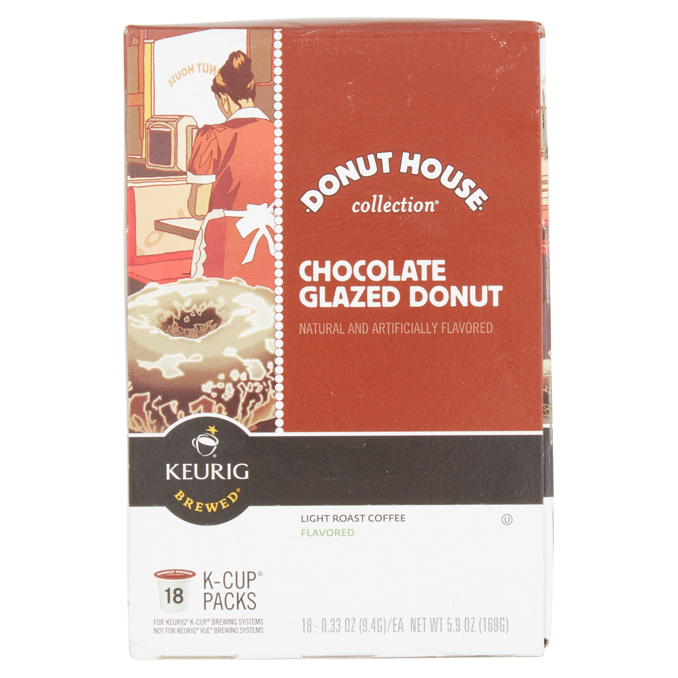 Keurig Brewed Green Mountain Coffee Chocolate Glazed Donut ...