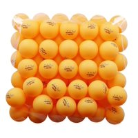 KEVENZ 50-Pack 3-Star Plus 40mm Orange Table Tennis Balls, Advanced Training Ping Pong Balls