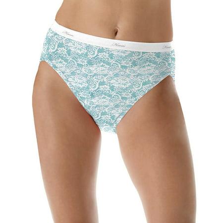 e0236caca6ac $18.89 (Wal-Mart.com USA, LLC). Hanes Womens 6 Pack Core Cotton Hi Cut Panty-  Assorted