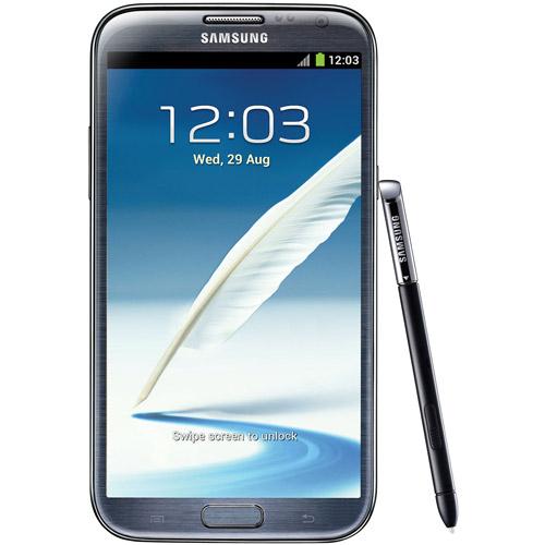Samsung Galaxy Note II N7100 GSM Smartphone, Titanium Gray (Unlocked)