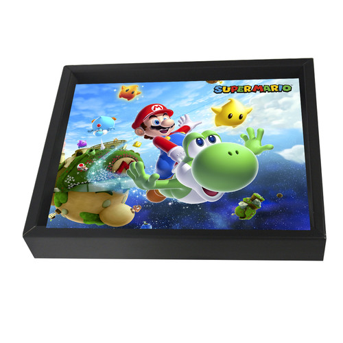 Pyramid America Mario Galaxy Framed 3D Graphic Art