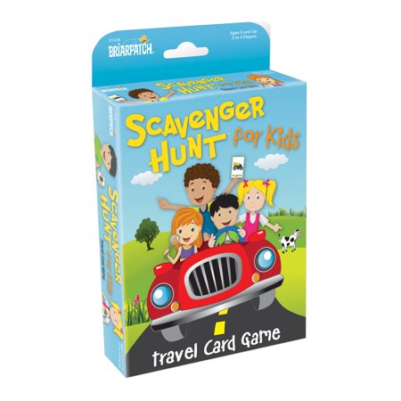 Scavenger Hunt for Kids Travel Card Game