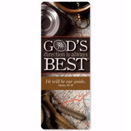 Christian Tools of Affirmation 151759 Gods Direction is Always Best Jumbo