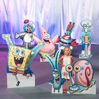 SpongeBob and Friends Cardboard Stand-Ups, Set of 7