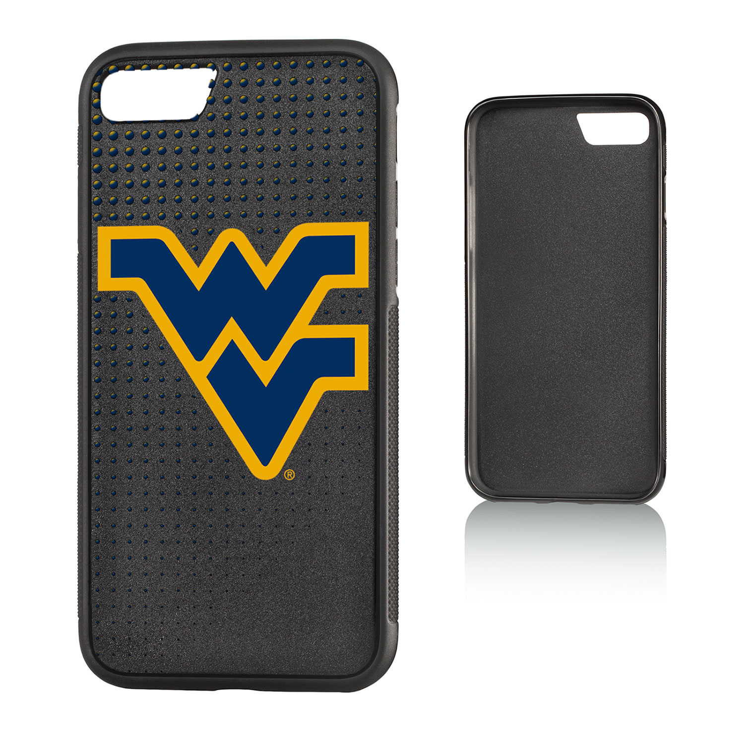 WVU West Virginia Mountaineers Dots Bump Case for iPhone 8 / 7