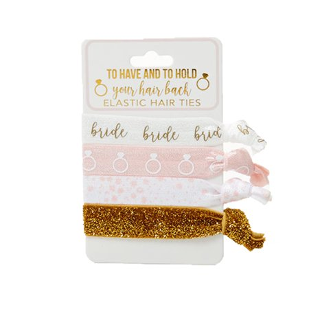 Bride To Have Tnd To Hold Elastic Hair Ties Set of