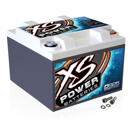 XS Power D925 12 Volt AGM 2000 Amp Sealed Power Cell Car Battery with Hardware