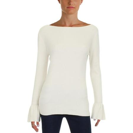 L/s Boatneck (Lauren Ralph Lauren Womens Boatneck Slim Fit Pullover Sweater)