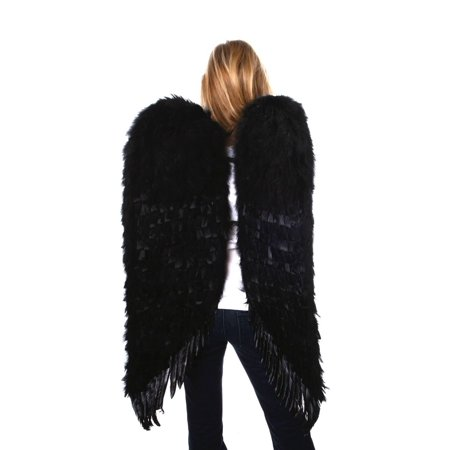Large Black Feather Angel Wings](Large Black Feather Wings)
