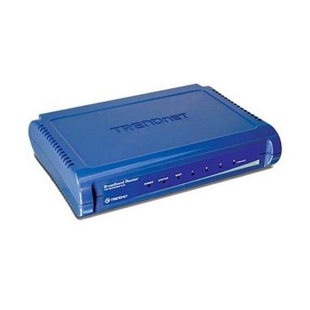 Trendnet 831-1766 4 Port Wired Ethernet Cable/DSL Broadband Router ...
