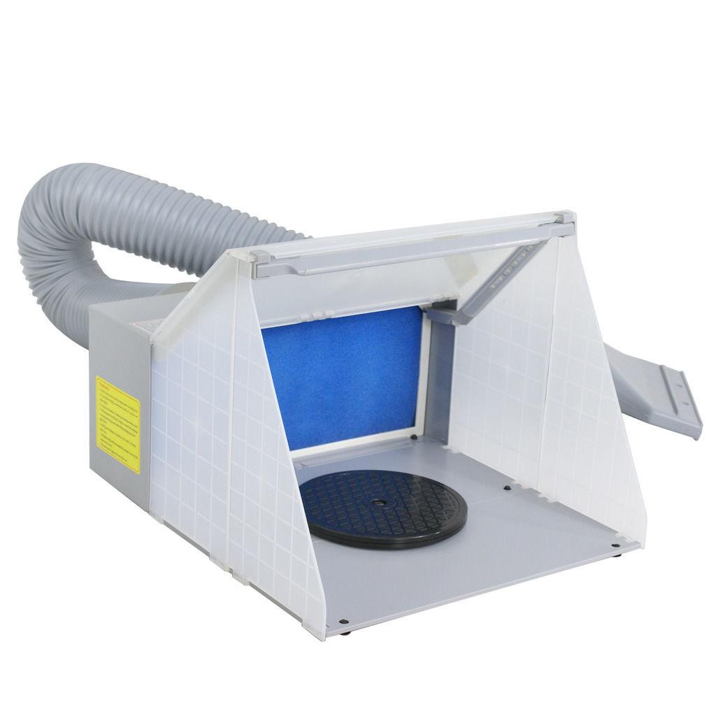 UBRTools Portable Hobby Airbrush Paint Spray Booth Kit Ex...