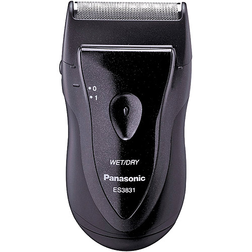 Panasonic ES3831K Wet/Dry Electric Travel Shaver, Black