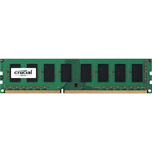 Crucial 2GB (1x2GB) DDR3 1600 MHz 1.35V Non-ECC Unbuffered 240-pin DIMM Module