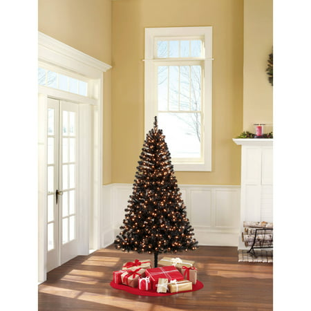 upc 887628053980 product image for holiday time pre lit 65 madison pine black artificial - Black Artificial Christmas Tree