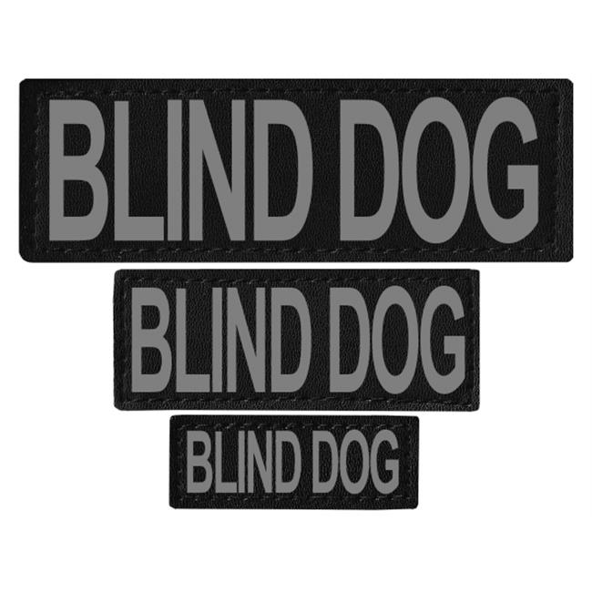 Dogline N0238-L-XL Blind Dog Removable Side Patches For Unimax & Alpha Harnesses - Large & XL