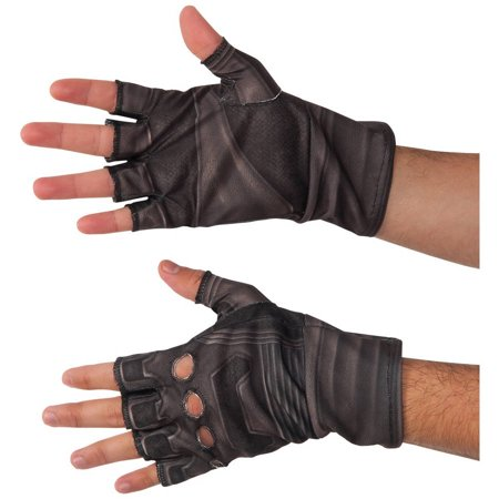 Marvel's Captain America: Civil War Adult Captain America Gloves Halloween Accessory, One Size - Creative Halloween Menus