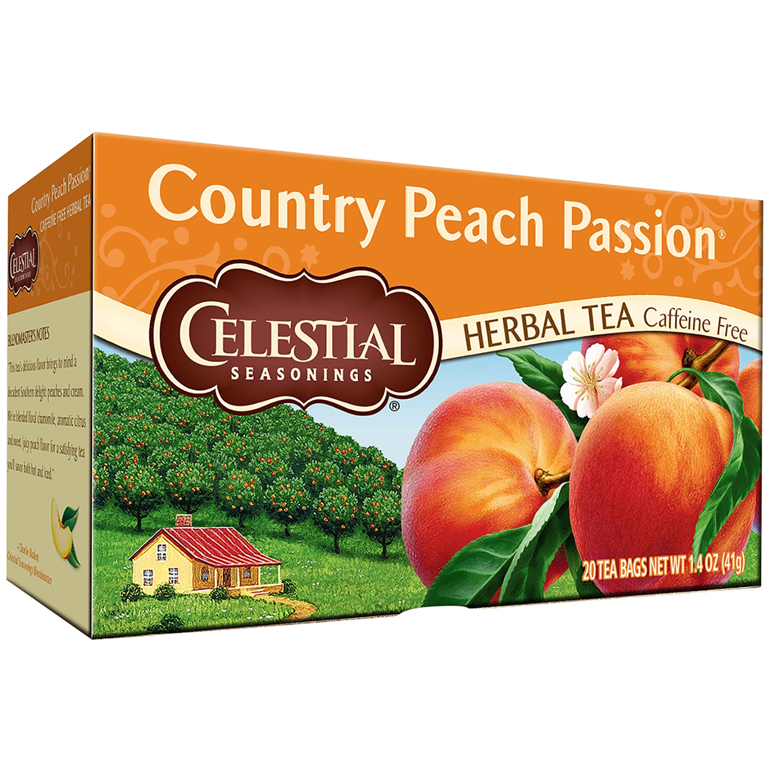Celestial Seasonings® Country Peach Passion® Herbal Tea Bags 20 ct Box