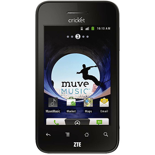 Cricket ZTE Score Prepaid Android Cell Phone