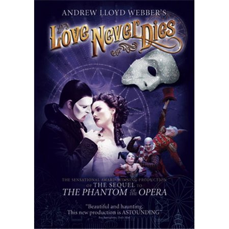 Andrew Lloyd Webber's Love Never Dies (DVD) (Cast Of Love Never Dies Us Tour)