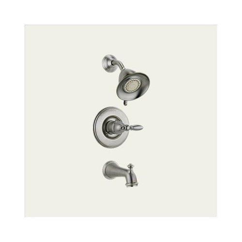 Delta Lockwood Large Lever Handles with Screws and Finial for Roman Tub Hand Shower