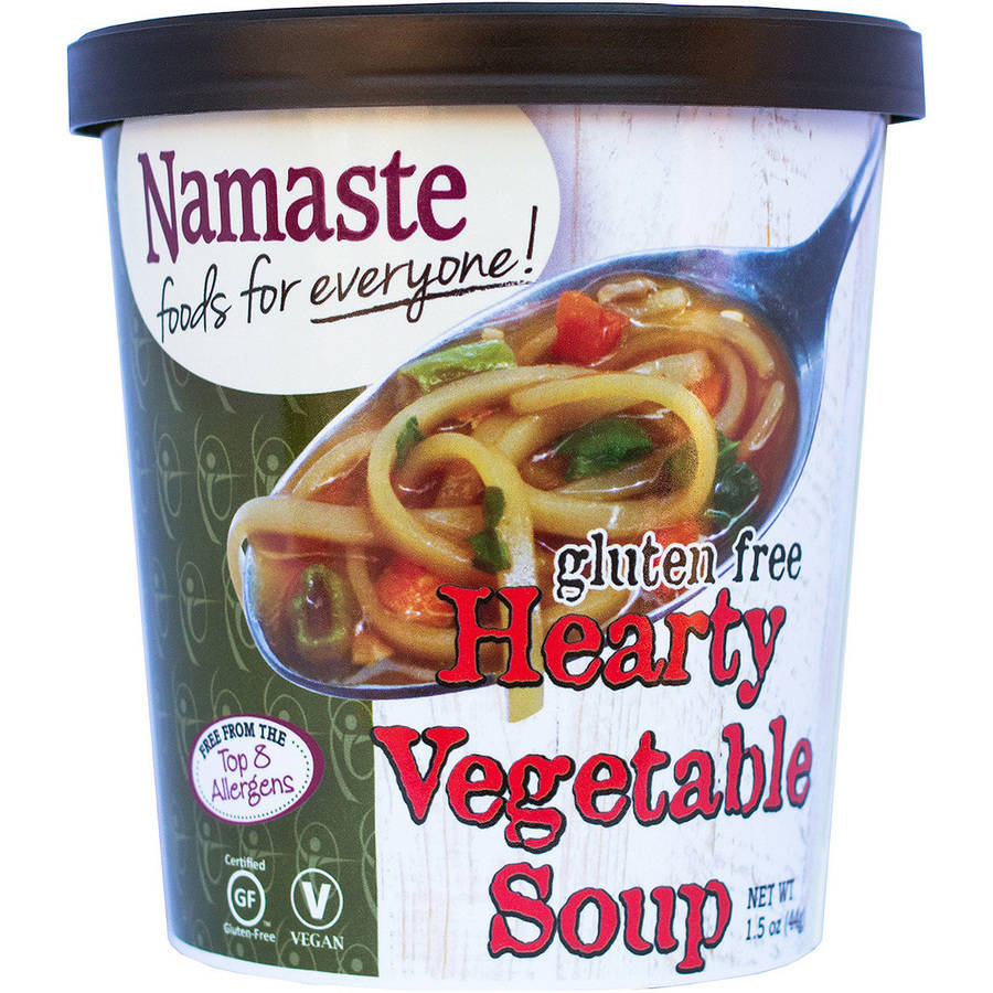 Namaste Foods Gluten Free Hearty Vegetable Soup, 1.5 oz by TGE